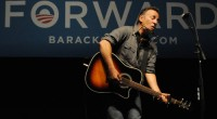 Bruce Springsteen played a short acoustic set at the Hilton Coliseum at the Iowa State University, Ames, IA last week (18 October 2012) at an Obama Presidential Rally. Thank to...