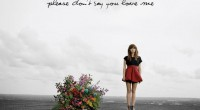 Sorry Gabrielle Aplin, but I love you. Well your voice anyway. I haven't met you in person, and I doubt either of our significant others would appreciate an affair. 'Please...