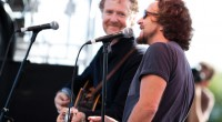Frames frontman Glen Hansard is currently touring the US with Pearl Jam's Eddie Vedder. They stopped off at the Bass Concert Hall in Austin, Texas on Sunday night, with both...