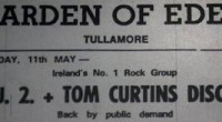 U2 played two shows at the Garden of Eden in Tullamore back in 1980. The first, on March 2nd saw them support showband The Tony Stevens Band, and the second...